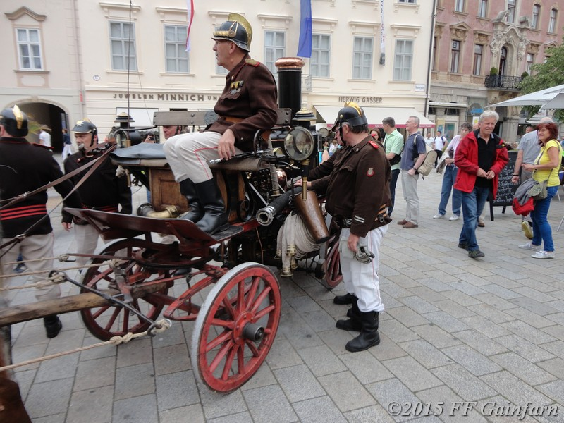 Kathi am Imperialen Fest in Baden
