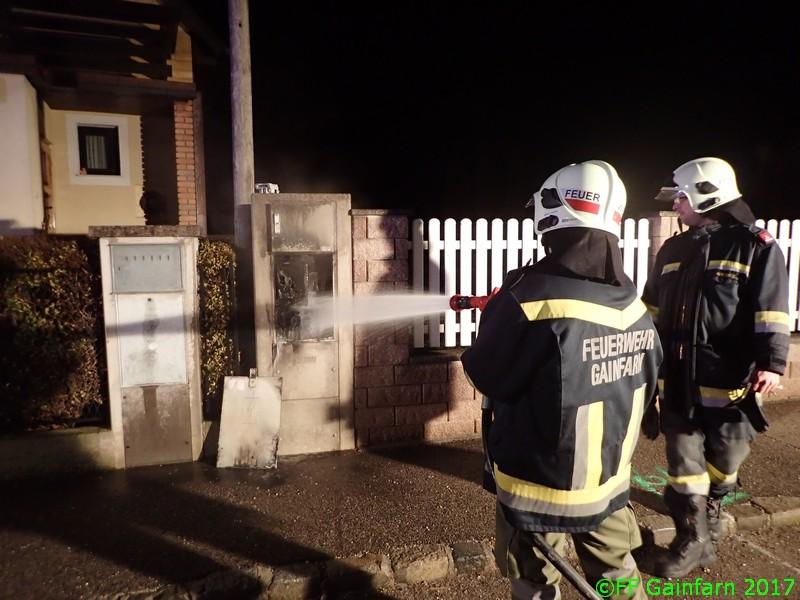 Brandeinsatz: Trafobrand