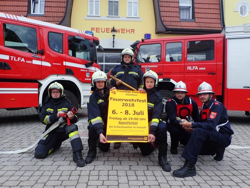 6. – 8. Juli 2018: Fest der Freiwilligen Feuerwehr Gainfarn