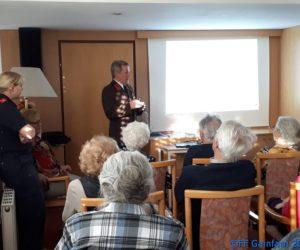 Vortrag in der Seniorenresidenz Kursana