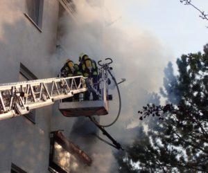 Brandeinsatz: Wohnungsbrand