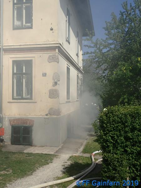 Brandeinsatz: Kellerbrand