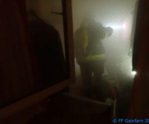 Brandeinsatz: Zimmerbrand