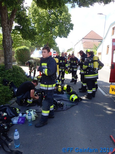 Brandeinsatz in Großau