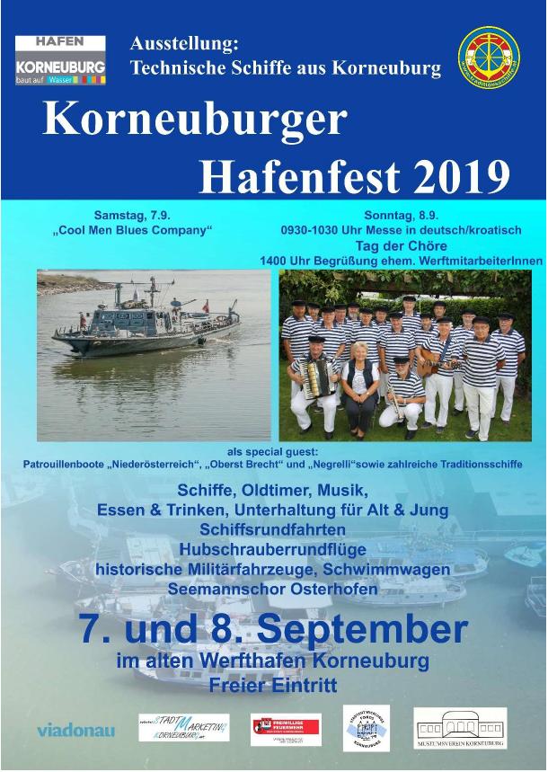 Kathi beim Hafenfest Korneuburg