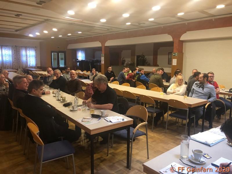 Mitgliederversammlung der Freiwilligen Feuerwehr Gainfarn