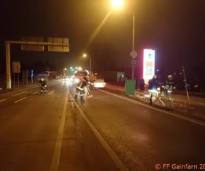 Technischer Einsatz: Verkehrsunfall