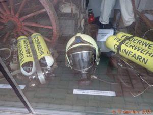 Ausstellung: Atemschutz bei der FF Gainfarn