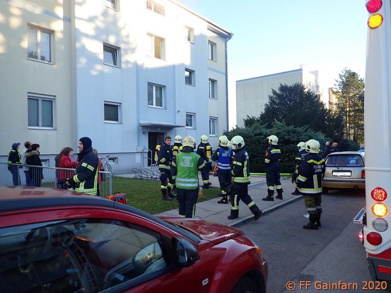 Brandeinsatz in Bad Vöslau: Wohnungsbrand