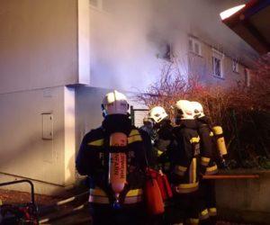 Brandeinsatz: Wohnungsbrand in Bad Vöslau