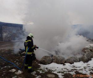 Brandeinsatz: Flurbrand