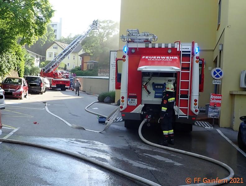 Brandeinsatz im Thermalbad
