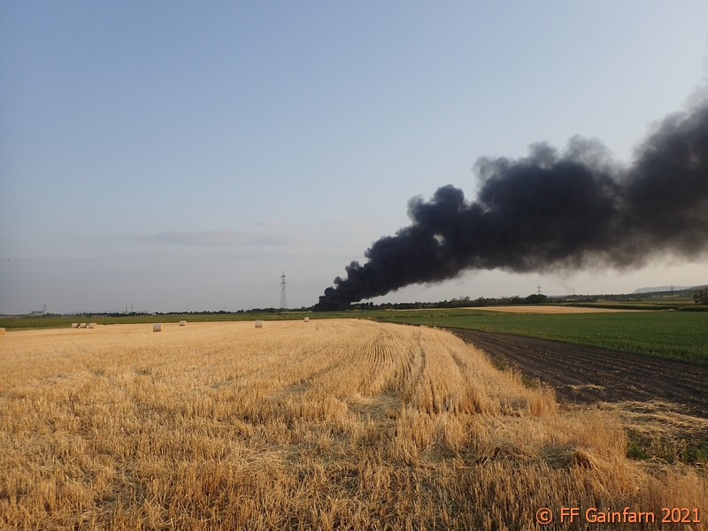 Brandeinsatz in Kottingbrunn